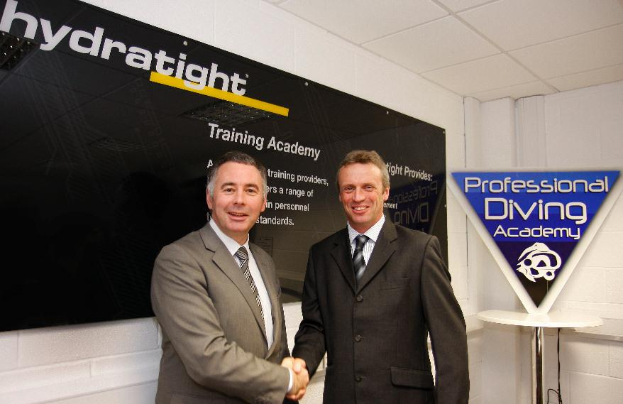 Hydratight Forms Strategic Partnership with Professional Diving Academy